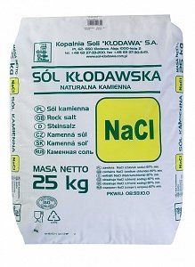 Klodawa sāls maiss 25kg