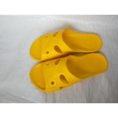Sieviešu gumija čības dzeltenas