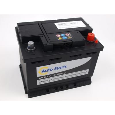 Autostarts akumulators 56 Ah 480 A 242x175x190