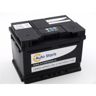 Autostarts akumulators 60 Ah 520 A 242x175x175