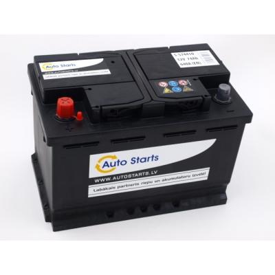 Autostarts akumulators 74 Ah 680 A 278x175x190